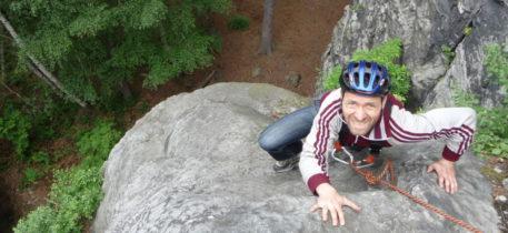 Klettern in der sächsischen Schweiz 5