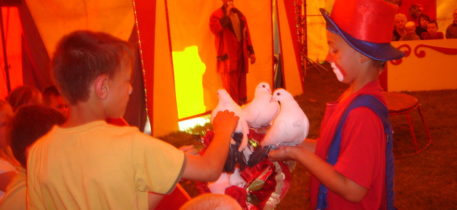 Altai-Adventure - Frauensee Zirkusfahrt
