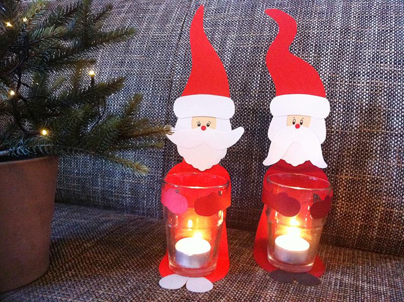 Basteln weihnachtslichter weihnachten  Tagesausflug Weihnachtsmann Werkstatt