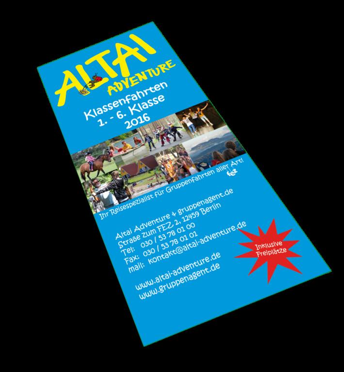 Altai-Flyer Blau - Gruppenfahrten 1.-6. Klasse