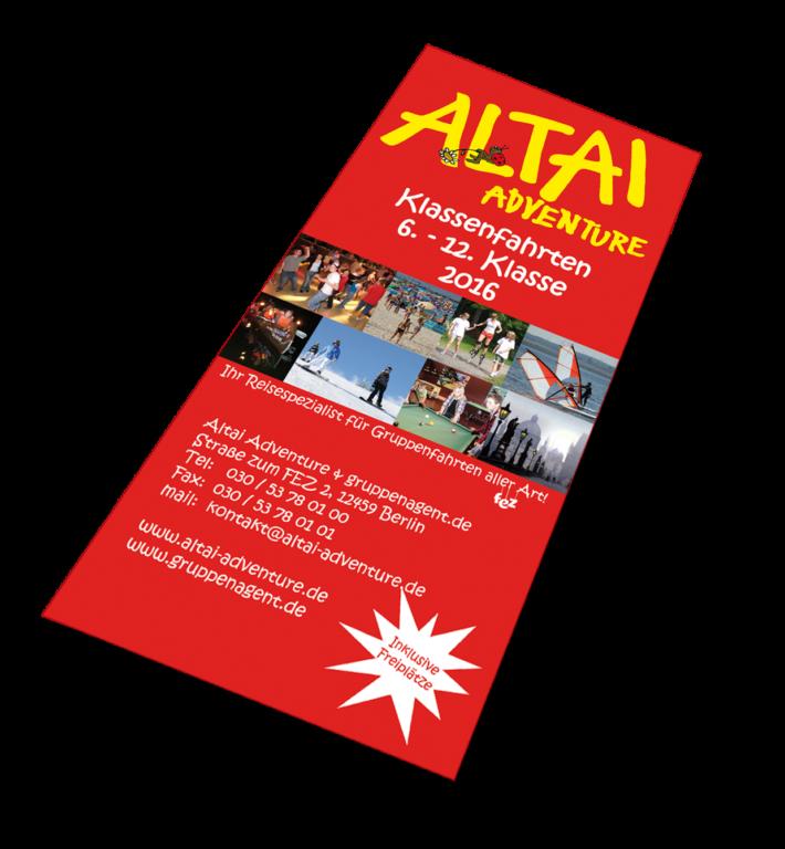 Altai-Flyer - Klassenfahrten 6.-12. Klasse