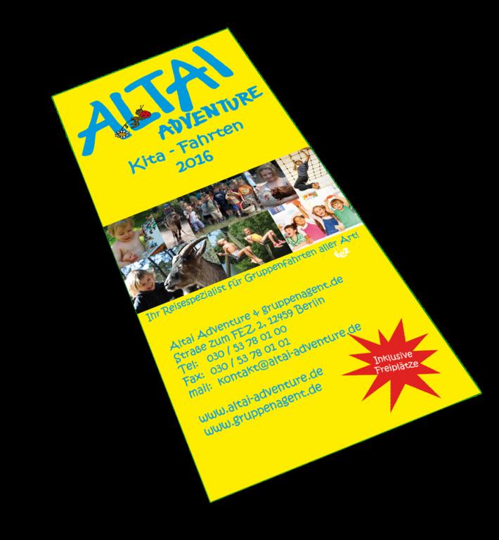 Altai-Flyer gelb - KiTa-Fahrten