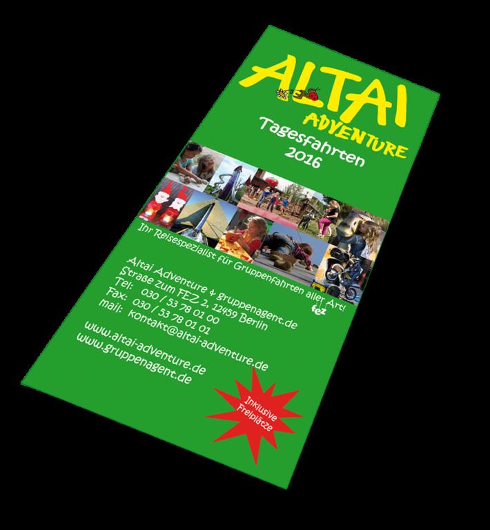 Altai-Flyer - Tagesfahrten
